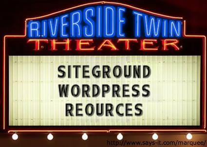 Siteground_WordPress_Resources