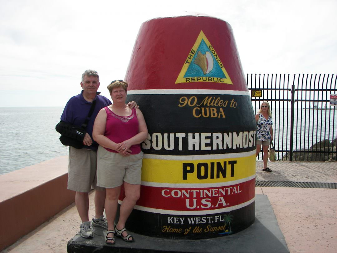 WLAdams and Kathleen at Key West, FL