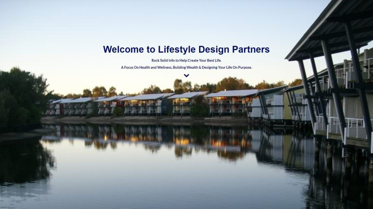 Screenshot of Lifestyle Design Partners